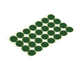 Shepherd SD9421 Green Felt Bumpers Table&Work Surface Components - 28 Pcs.