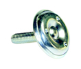 "Superior Components GD7433 Nickel Round Leveling Adjustable Swivel Glide 1-1/8"" - 1 Each"
