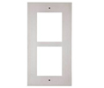 2N AXE-9155012 Helios IP Verso Flush Installation Frame for 2 Module (Must Be Together with 9155015)