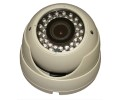 Aleph America Corporation ALP-DH700VF High Resolution Indoor & Outdoor Dome Camera with 2.8-12mm Varifocal Lens