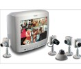 "Royal Philips Electronics BOS-VS839414T 14"" Color Multiplexer Monitor with 4 Cameras"