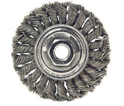 Weiler 804-13105 Dualife Standard Twist Knot Wire Wheels - 4 Diam - 12 - 13 Unc Arbor Thread - Tpi Or Pitch at Sears.com