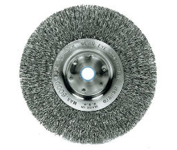 Weiler 804-13075 Trulock Narrow-Face Crimped Wire Wheels - 4 Diam - M10 X 125 Arbor Thread - Tpi Or Pitch at Sears.com