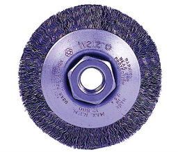 Weiler 804-13094 Trulock Crimped Wire Bevel Wheels - 3 38 Diam - 12 - 13 Unc Arbor Thread - Tpi Or Pitch at Sears.com