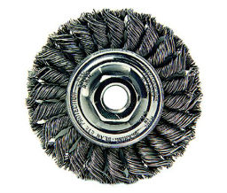 Weiler 804-13120 Dualife Standard Twist Knot Wire Wheels - 4 Diam - 58 - 11 Arbor Thread - Tpi Or Pitch at Sears.com