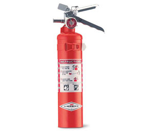 Amerex AX403T BC Dry Chemical Fire Extinguisher - 2 1/2 lb w/Vehicle Bracket - 10B:C