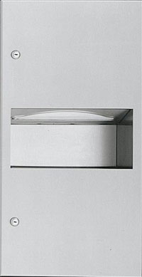 ASI 64623-9 Paper Towel Dispenser and Waste Receptacle Unit