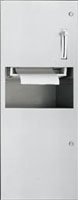 ASI 64696-9 Roll Paper Towel Dispenser and Waste Receptacle Unit