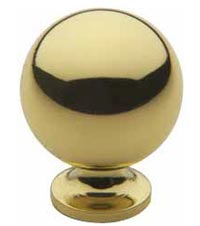 "Baldwin 4960 1"" Spherical Cabinet Knob"