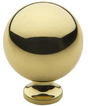 "Baldwin 4961 1.25"" Spherical Cabinet Knob"
