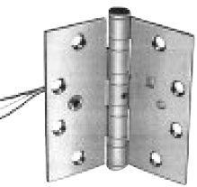 Hager Bb1199-E1S 5X5In Exposed Electric Switch Hinge-Full Mortise-Heavy Weight-Ball Bearing-Brass Base at Sears.com