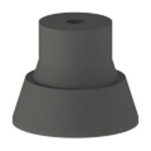 Hager 270R Replacement Rubber Tips For Kick Down Door Stops (bag Of 10    Pieces)