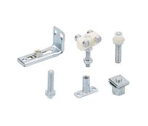 Hettich HT1551 2 Door Hardware Kit - 25 lb. Capacity, 3/4u201d Thick Bi-Fold  Door Hardware