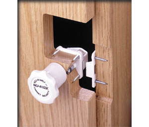 A-Shelf RRL201 Magnetic Cabinet Door Lock - Lock with Strike Plate ...