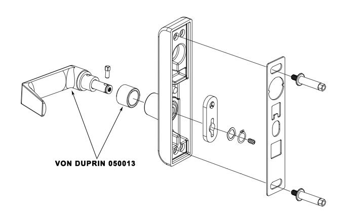 von duprin 996l trim parts manual