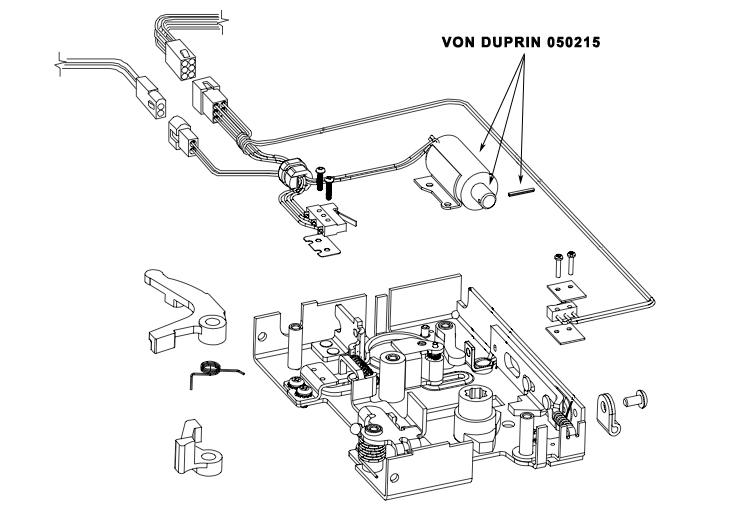 Von Duprin 050215 E7500 Solenoid Replacement Kit 24vdc Fs